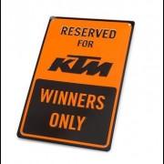 KTM PARKING PLATE