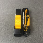 BULLBAR TIE DOWNS YELLOW