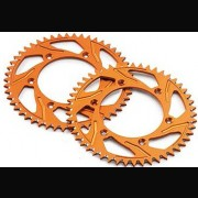KTM ALLOY REAR SPROCKET ORANGE